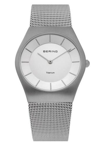 Bering silver Classic 11935-000 Silver 35 mm Men's Watch FDB25ACE6388E2GS_1
