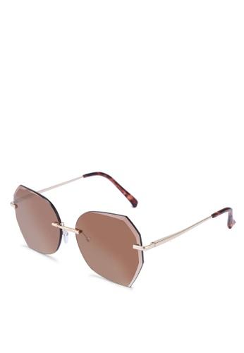 ALDO brown Songbird Sunglasses 07004GLA5FEAB9GS_1