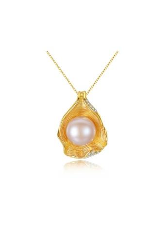 A.Excellence white Premium White Pearl Elegant Necklace 40864ACD4284ECGS_1