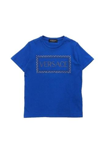 Versace blue VERSACE BOYS T-SHIRT A1A94KA23743A6GS_1