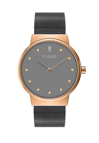 Fjord grey Fjord Women's Mesh Band Watch - FJ-6046-44 7B7EFACBE8AD38GS_1