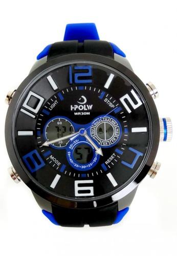 Lucky JX blue Korea Edition High-grade Quartz Watch LU630AC37VCWPH_1