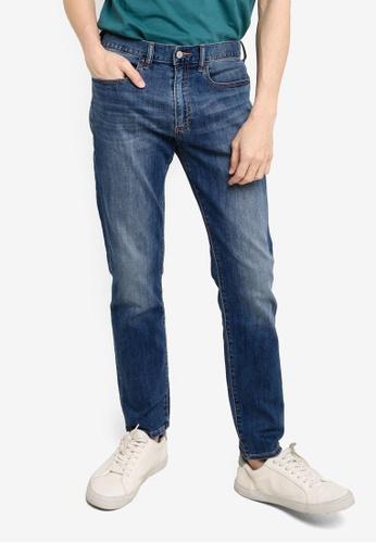 GAP blue V-Slim Fit Jeans B66A9AA0437825GS_1