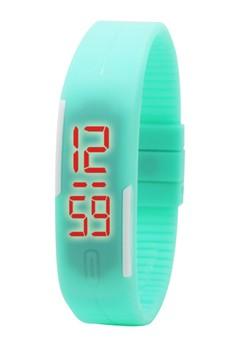 Durable Bracelet Slim LED Watch