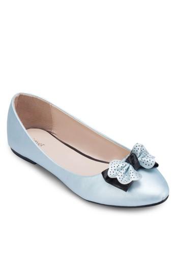 點點蝴蝶結平底鞋, 女鞋, esprit旗艦店鞋