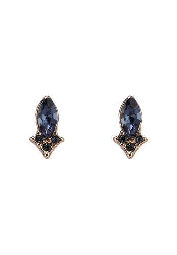Pieces blue and gold Lei Earstuds 41935ACBA0B081GS_1