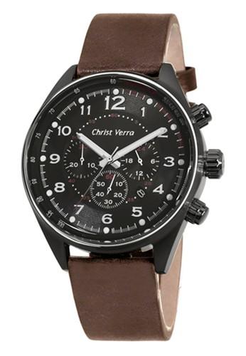 Christ Verra brown Christ Verra Men's Watches CV 71176G-26 BLK/BRN 2E8B9ACCA0D441GS_1