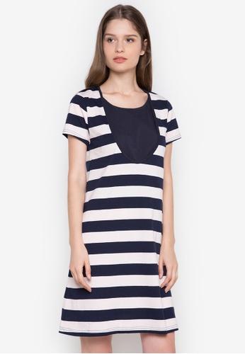 Le Tigre navy Ladies Dress LE798AA0K40SPH_1
