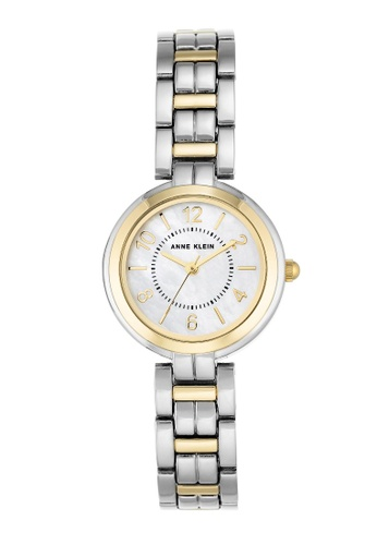 1b77dcfe2 Anne Klein gold Anne Klein Women's AK-3071MPTT Gold-Tone Quartz Metal Dress  Watch