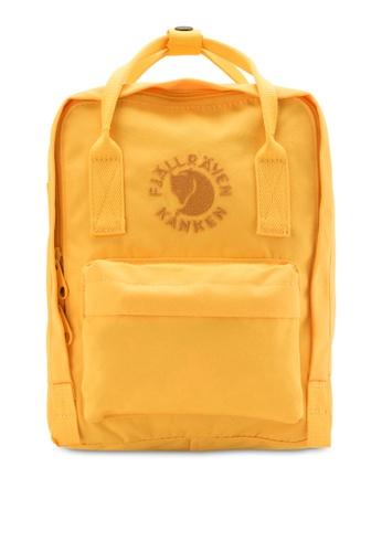 Fjallraven Kanken yellow Sunflower Yellow Re-Kanken Mini Backpack FJ382AC88ZNNMY_1