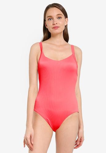 Roxy red Mind Of Freedom One Piece Swimsuit A36CDUS651CBB4GS_1
