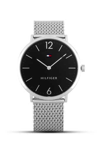 Tommy Hilfiger Watches black and silver Men's Ultra Slim TO959AC14QIVPH_1
