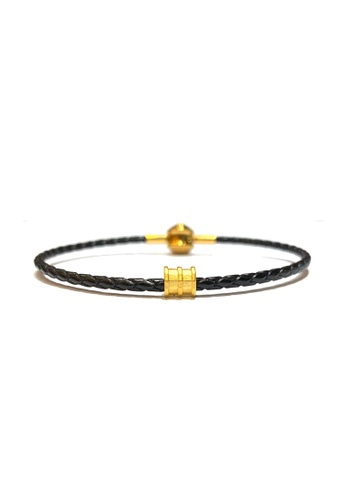 LITZ gold [SPECIAL] LITZ 999 (24K) Gold Tube Pendant EPC0901-B-B 687F1ACBBAFD30GS_1