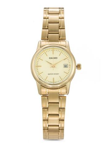 LTP-V002G-9Aesprit twUDF 三指針不銹鋼女錶, 錶類, 飾品配件