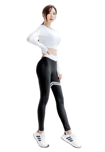 YG Fitness multi (3PCS) Sports Fitness Yoga Set (Sports Bra+Pants+Long T) 3EA70US4694018GS_1
