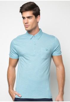 Bench Men's Slub Polo Shirt
