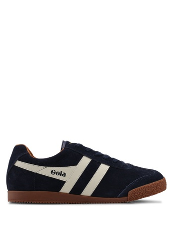Gola navy Harrier Sneakers EF362SH14AC574GS_1