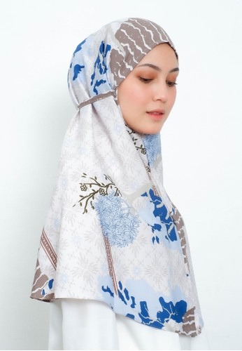 My Daily Hijab blue My Daily Hijab Bergo Saski Denim DF8ECAADA27255GS_1