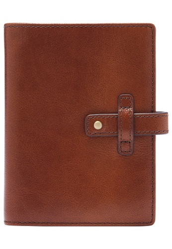 Fossil brown Mykel Card Case SML1812200 F1662AC59D21C9GS_1