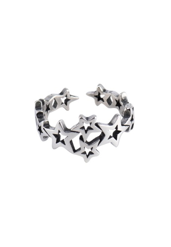 A-Excellence silver Premium S925 Sliver Star Ring 7097DAC4061CA7GS_1
