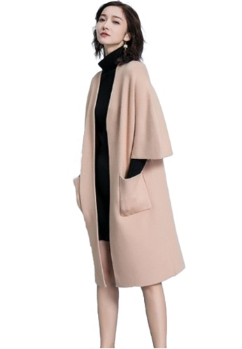 Sunnydaysweety beige F/W Perfect New  Cashmere Knitted Jacket Cardigans A111102BENEW AF9D6AA6CB424FGS_1