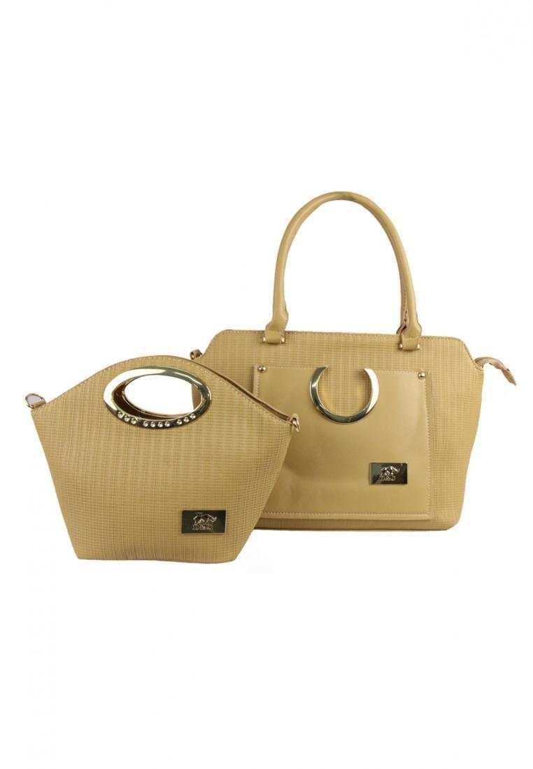 Tote Bag with Sling Bag