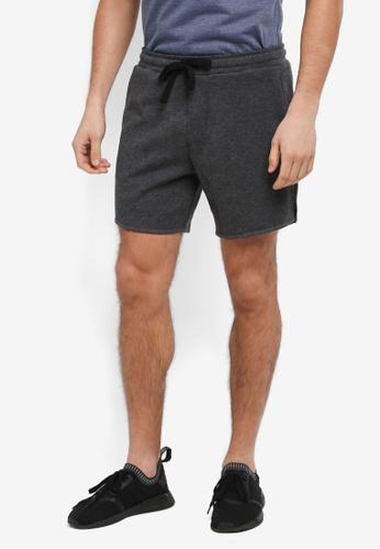 Cotton On black Coar Performance Double Knit Shorts E739AAA5EC6AD9GS_1