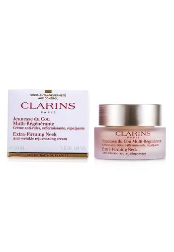 Clarins CLARINS - Extra-Firming Neck Anti-Wrinkle Rejuvenating Cream 50ml/1.6oz E523BBE07C344AGS_1