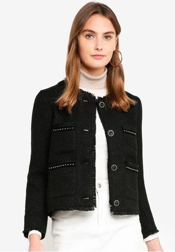 ESPRIT black Indoor Woven Short Jacket 5C59FAA422EDEDGS_1