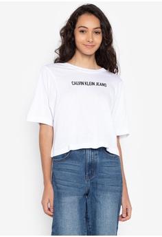 62eae2547ea Shop Calvin Klein T-Shirts for Women Online on ZALORA Philippines