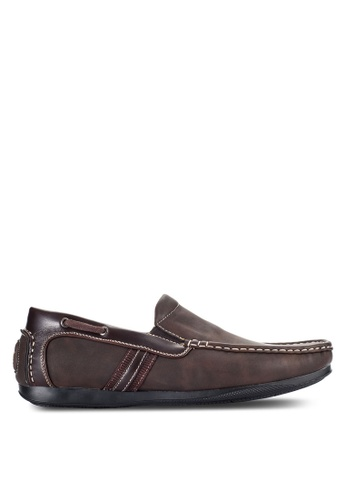 Louis Cuppers brown Casual Loafers LO977SH03VOQMY_1