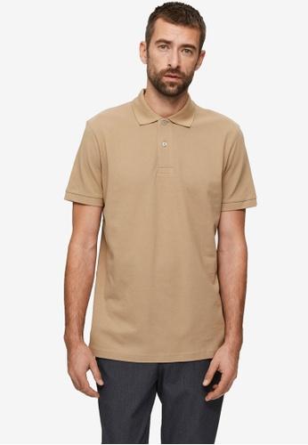Selected Homme brown Neo Polo Shirt B386EAAC7BD37DGS_1