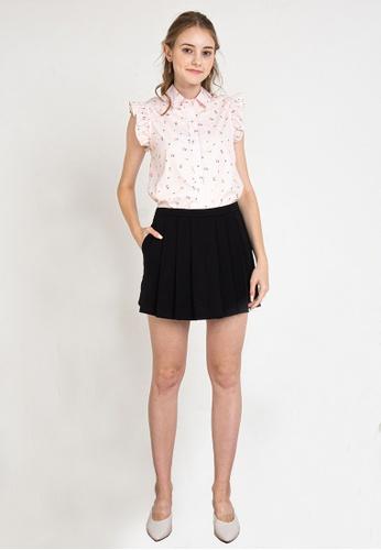 L'zzie pink LZZIE CHERRY TOP - PINK 78D73AA4D599C6GS_1