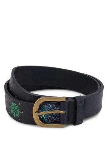 Embroesprit 手錶idery Trabilla 繡花腰帶, 飾品配件, 鞋