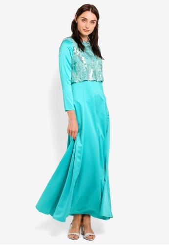 Lagendas green SONIA DRESS ABD27AA997B97FGS_1