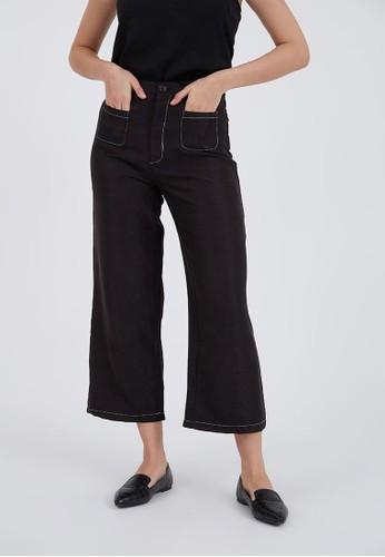 Berrybenka Label black Richa Corduroy Pants Black 26453AA42A13DFGS_1