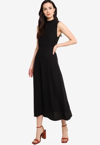 ZALORA WORK black High Neck Sleeveless Dress 0E8E0AA2D7E442GS_1