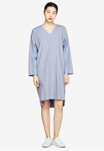 前esprit 高雄短後長寬版連身裙, 服飾, 洋裝