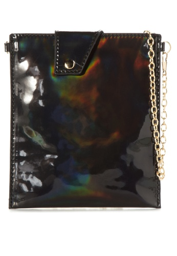 Chase Fashion black Holographic Pouch CH547AC30VSJPH_1