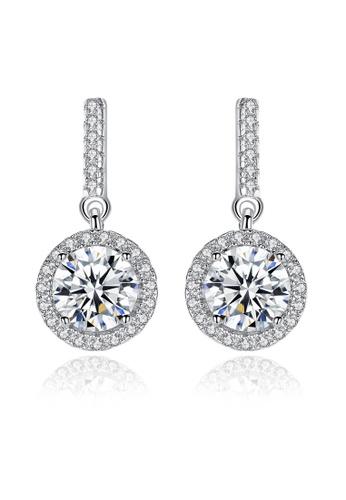 SUNRAIS silver High-end Silver S925 silver fashion earrings 5AE8FAC89D5584GS_1