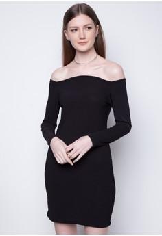 Elegant Off Shoulder dress