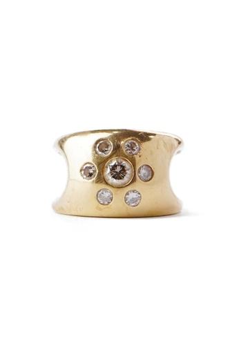 CEBUANA LHUILLIER JEWELRY gold 18 Karat Yellow Gold Lady Ring With Diamonds 4B06AAC49807DAGS_1