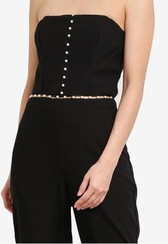 6ff05a47243c Buy Miss Selfridge Pearl Insert Jumpsuit Online