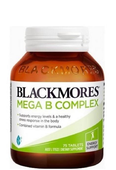BLACKMORES BLACKMORES - 複合多種維生素B族 75粒 MEGA COMPLEX B