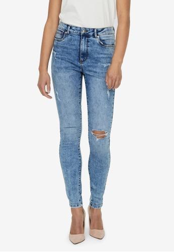Vero Moda blue Sophia Hr Skinny Jeans Vi3108 F3C90AAE22C5F4GS_1