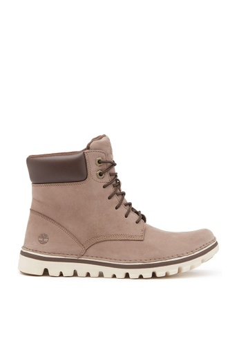 Timberland grey Brookton 6-Inch Lace-Up Boots E3815SH025B346GS_1