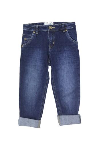 Gingersnaps blue Neo Japonique Pant Dk Denim Blue BCF13KACC891E5GS_1