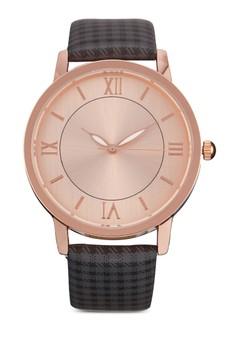 Checkered Strap Watch