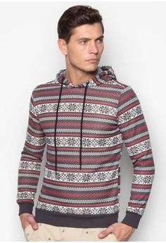 Printed Hoodie Sweatshirt
