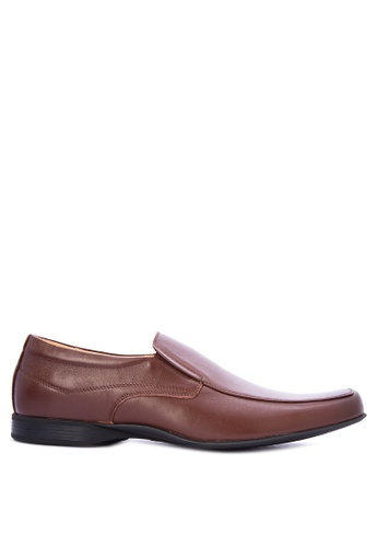 Gibi brown Sum Dress Shoes 34E5ASH060A687GS_1